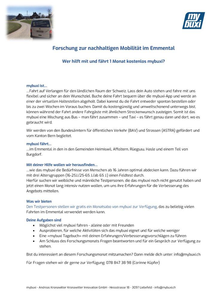 Einladung Forschungsmonat