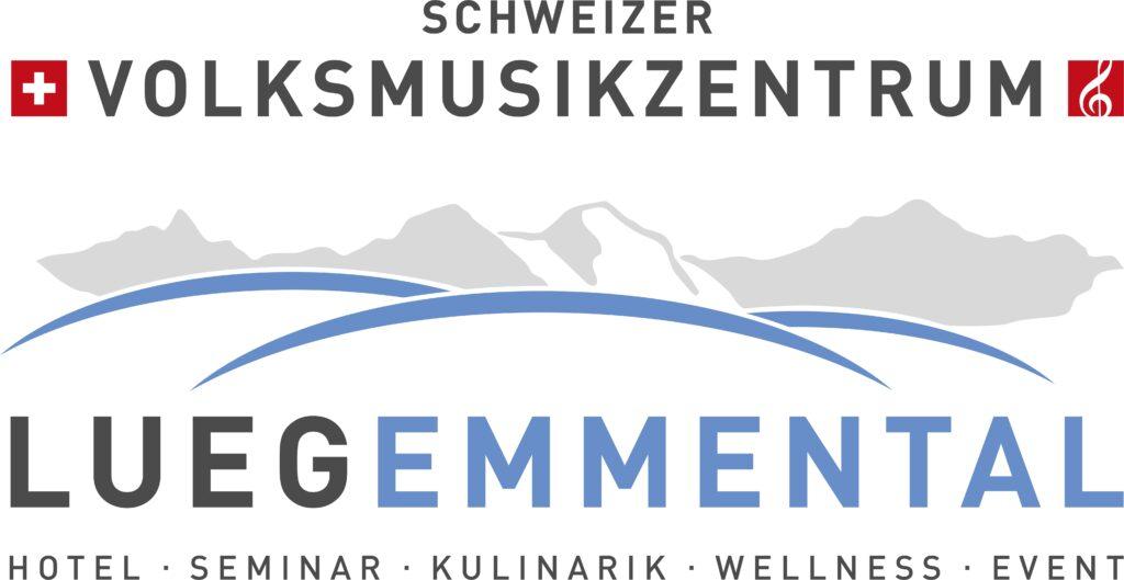 Logo Schweizer Volksmusikzentrum Lueg